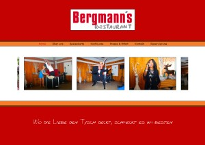 Website - bergmanns-restaurant.de